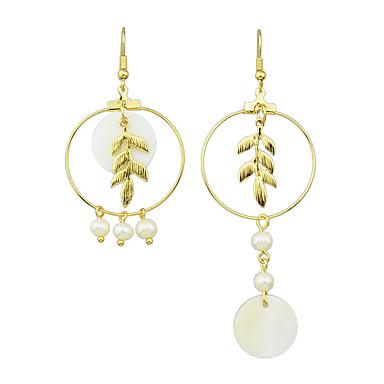 Damskie Kolczyki wiszące Pearl imitacja Imitacja pereł Biżuteria Na Impreza Codzienny Casual