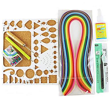 400pcs quilling papieren diy ambachtelijke kunst decoratie kit / 7pcs set