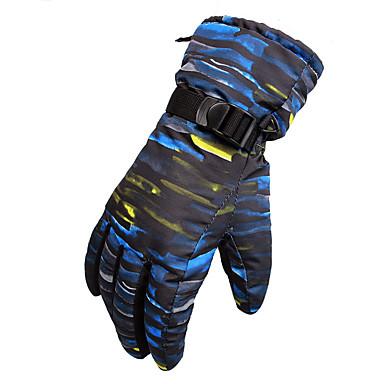 Męskie Damskie Full Finger Keep Warm Wodoodporny Wiatroodporna Rękawiczki sportowe Rękawice narciarskie Narciarstwo Zima
