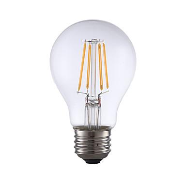 GMY® 1db 350 lm E26 Izzószálas LED lámpák A60(A19) 4 led COB Tompítható Meleg fehér AC 110-130V