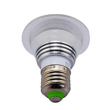 3W 120 lm E14 GU10 E26/E27 B22 LED 스마트 전구 MR16 1 LED가 고성능 LED 적외선 센서 밝기조절가능 장식 리모컨 작동 RGB AC 85-265V
