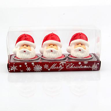 χριστουγεννιάτικα στολίδια 3pcs για το τραπέζι Χριστουγεννιάτικη διακόσμηση
