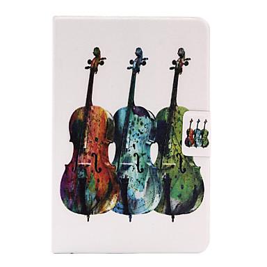 Varten Korttikotelo / Origami Etui Takakuori Etui Piirros Kova Tekonahka varten Apple iPad Mini 4 / iPad Mini 3/2/1
