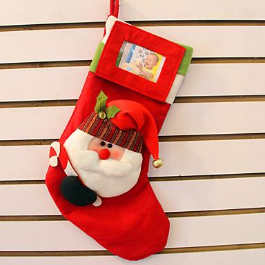 2szt stereo Święty Mikołaj Boże Narodzenie skarpety torba prezent najwyższej klasy stereofoniczne Narodzenie skarpety można umieścić