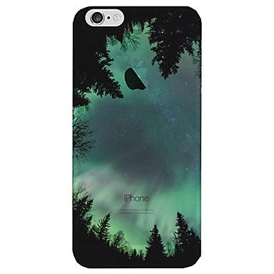 Kılıf Na Apple iPhone 8 iPhone 8 Plus Etui iPhone 5 iPhone 6 iPhone 7 Półprzezroczyste Czarne etui Sky Krajobraz Miękkie TPU na iPhone 8