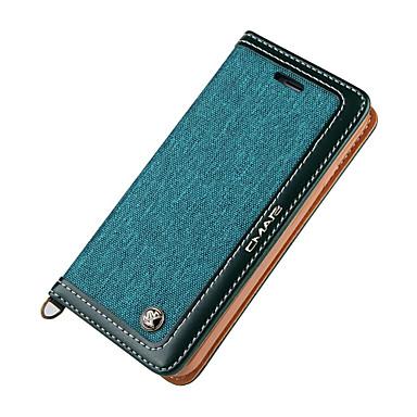 용 지갑 / 카드 홀더 / 플립 케이스 풀 바디 케이스 단색 하드 인조 가죽 Apple 아이폰 7 플러스 / 아이폰 (7)