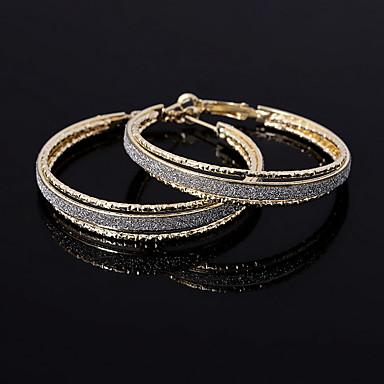 Damla Küpeler Mücevher minimalist tarzı Avrupa alaşım Altın Gümüş Mücevher Için Düğün Parti Günlük 1 çift