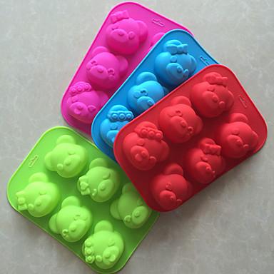 Bakeware araçları Silikon Yapışmaz / 3D / Kendin-Yap Ekmek / Kek / Kurabiye Pişirme Kalıp