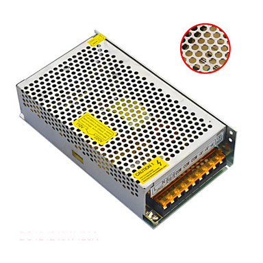 Jiawen AC110V / 220v naar dc 12v 20a 240W transformator schakelende voeding