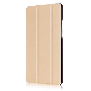 yksivärinen kuvio PU nahka tapauksessa nukkua 8 tuuman Huawei kunniaa tabletti 2 (JDN-al00 ja JDN-W09)