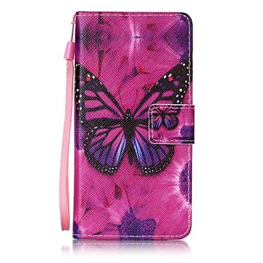 tok Για Samsung Galaxy A5(2017) A3(2017) Πορτοφόλι Θήκη καρτών με βάση στήριξης Ανοιγόμενη Με σχέδια Πλήρης κάλυψη Πεταλούδα Σκληρή PU
