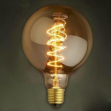 g125 draht um 40w gl hlampe edison lampen bar. Black Bedroom Furniture Sets. Home Design Ideas
