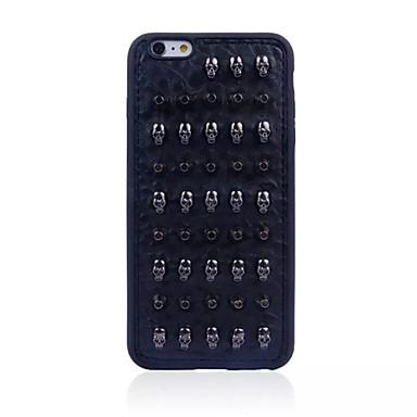 용 패턴 케이스 뒷면 커버 케이스 펑크 소프트 TPU Apple 아이폰 7 플러스 / 아이폰 (7) / iPhone 6s Plus/6 Plus / iPhone 6s/6 / iPhone SE/5s/5