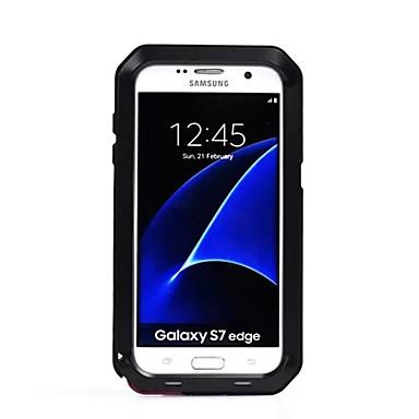 케이스 제품 Samsung Galaxy S7 edge S7 물 / 먼지 / 충격 증명 풀 바디 한 색상 하드 메탈 용 S7 edge S7 S6 edge plus S6 edge S6 S5