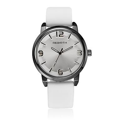 Erkek Quartz Bilek Saati / Büyük indirim Deri Bant Günlük Moda Siyah Beyaz