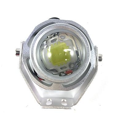 1db 10w univerzális autós vezette DRL 10w led ködlámpa motorkerékpár vezetett fényű lámpa