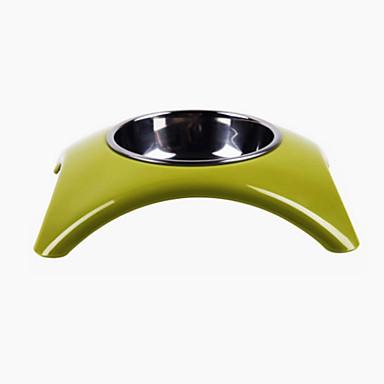 Γάτα Σκύλος Τροφοδότες Κατοικίδια Μπολ & Διατροφή Αδιάβροχη Καθημερινά Πράσινο