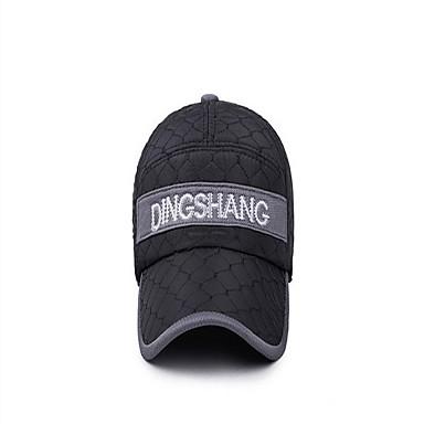 Καπακωτό Καπέλο Διατηρείτε Ζεστό Άνετο για Μπέιζμπολ Γράμμα & Αριθμός Κλασσικά Βαμβάκι