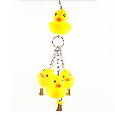 Kuş Kuş Oyuncakları Metal Plastik Sarı
