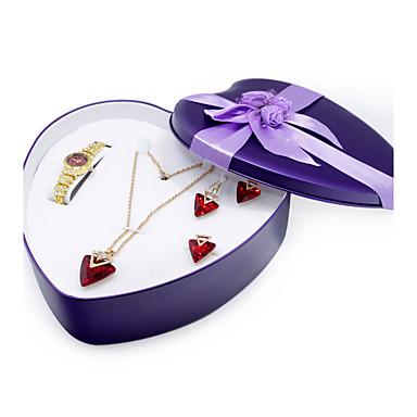 Women's Quartz Bracelet Watch Rhinestone Alloy Band Casual Elegant Fashion Gold