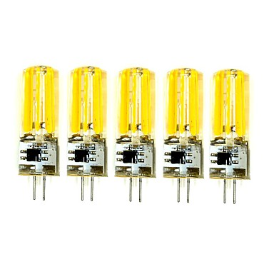 5Pcs Przewodowy Others G4 2809 Cob AC220 v 1500 lm Warm White Natural White Double Needle Waterproof Glue Lamp Other