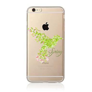 Kılıf Na Apple iPhone X iPhone 8 Plus iPhone 7 iPhone 6 Etui iPhone 5 Przezroczyste Wzór Etui na tył Kwiaty Miękkie TPU na iPhone X