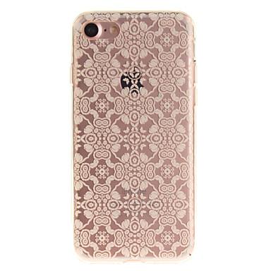 Για Θήκη iPhone 7 Θήκη iPhone 6 IMD tok Πίσω Κάλυμμα tok Σχέδιο δαντέλα Μαλακή TPU για AppleiPhone 7 Plus iPhone 7 iPhone 6s Plus/6 Plus