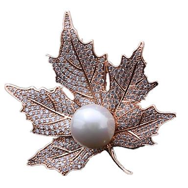 Damskie Broszki - Perłowy Gold, Silver