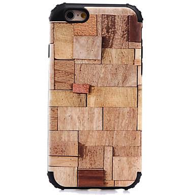 Για Ανθεκτική σε πτώσεις / Με σχέδια tok Πίσω Κάλυμμα tok Νερά ξύλου Σκληρή PC για AppleiPhone 7 Plus / iPhone 7 / iPhone 6s Plus/6 Plus