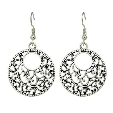Σκουλαρίκι Κρεμαστά Σκουλαρίκια Κοσμήματα Γυναικεία Καθημερινά / Causal Κράμα 1 ζευγάρι Ασημί