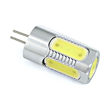 150-200 lm G4 LED Bi-Pin lamput 5 ledit COB Lämmin valkoinen Kylmä valkoinen DC 12V