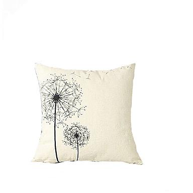 1 szt Bawełna Bielizna Poszewka na poduszkę, Kwiaty Modern / Contemporary