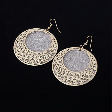 Σκουλαρίκι Χωρίς Πετράδι Κρεμαστά Σκουλαρίκια Κοσμήματα Γυναικεία Γάμου / Πάρτι / Καθημερινά / Causal Κράμα 1 ζευγάρι Χρυσαφί / Ασημί