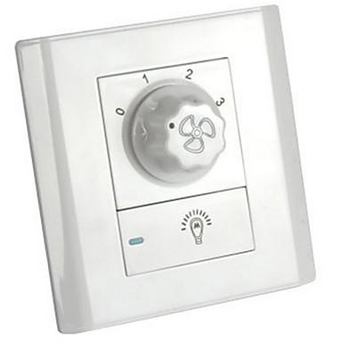 Sterowanie wentylatorem przełącznik ścianie przełącznik prędkości kinkiet 86 Typ