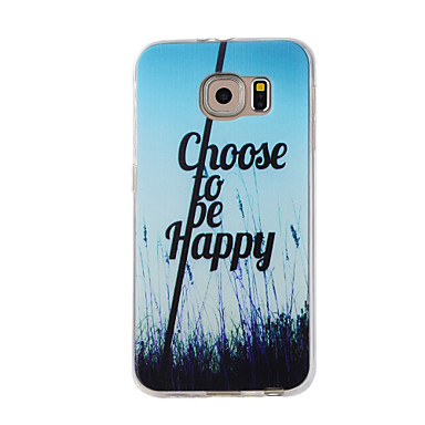 Etui Käyttötarkoitus Samsung Galaxy S7 edge S7 Kuvio Takakuori Scenery Pehmeä TPU varten S7 edge S7 S6 edge S6 S5 S4