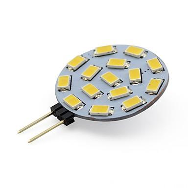 3W G4 أضواء LED Bi Pin T 12 SMD 5730 210 lm أبيض دافئ / أبيض كول DC 12 V قطعة