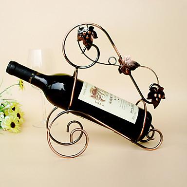 رفوف النبيذ حديد زهر,27*11*29CM خمر إكسسوارات