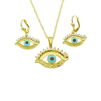 Κοσμήματα Κολιέ / Cercei Γάμου / Πάρτι / Καθημερινά / Causal 1set Γυναικεία Κίτρινο Χρυσό Δώρα Γάμου