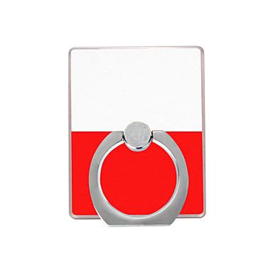 πολωνική σημαία μοτίβο πλαστική υποδοχή δακτύλιο / 360 περιστρεφόμενη για κινητό τηλέφωνο iphone 8 7 samsung galaxy s8 s7