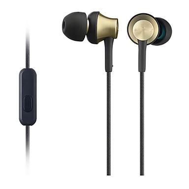 MDR-EX650AP In het oor Bekabeld Hoofdtelefoons Gebalanceerde Armatuur Aluminum Alloy Mobiele telefoon koptelefoon met microfoon