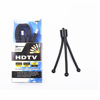 wspornik trójkąt& linia wysokiej rozdzielczości 1,5 m HDMI jako dar
