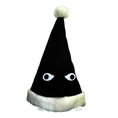 모자/ 캡 에서 영감을 받다 나루토 Naruto Uzumaki 에니메이션 코스프레 악세서리 모자 블랙 코르덴