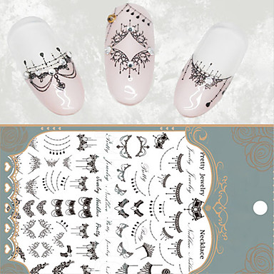 1 Nail Art tarra Veden siirto Decals meikki Kosmeettiset Nail Art Design