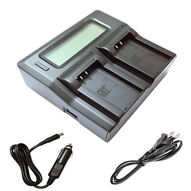ismartdigi EL20 LCD podwójny ładowarka z kablem ładowania samochodów do Nikon EN-EL20 J1 J2 J3 AW1 s1 batterys kamer