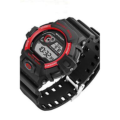 SANDA Męskie Sportowy Wojskowy Inteligentny zegarek Modny Zegarek na nadgarstek Cyfrowe Kwarc japoński Chronograf Wodoszczelny LED Dwie
