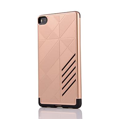 Mert Ütésálló Case Hátlap Case Egyszínű Kemény PC mert Huawei Huawei P9 Huawei P8 Huawei Mate 9 Huawei Mate 8 Huawei Mate 7