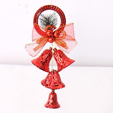 크리스마스 트리 장식품을 ofing 1PCS 색상 임의 크리스마스 장식 선물 역할은 크리스마스 선물은 종의 actthe 역할을 끊지