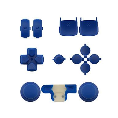 교체 컨트롤러 케이스 조립 키트는 PS3의 컨트롤러에 대한 설정 / 녹색 / 파랑