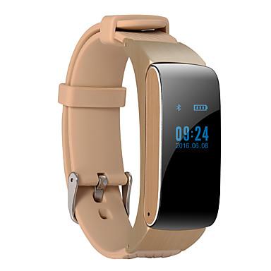 D22 Inteligentny zegarek Inteligentna bransoletka Słuchawka Opaski na nadgarstek Android Ekran dotykowy Spalone kalorie Krokomierze