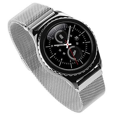 Samsung Gear s2 klasik watchband için liveer lüks milanese döngü kayışı